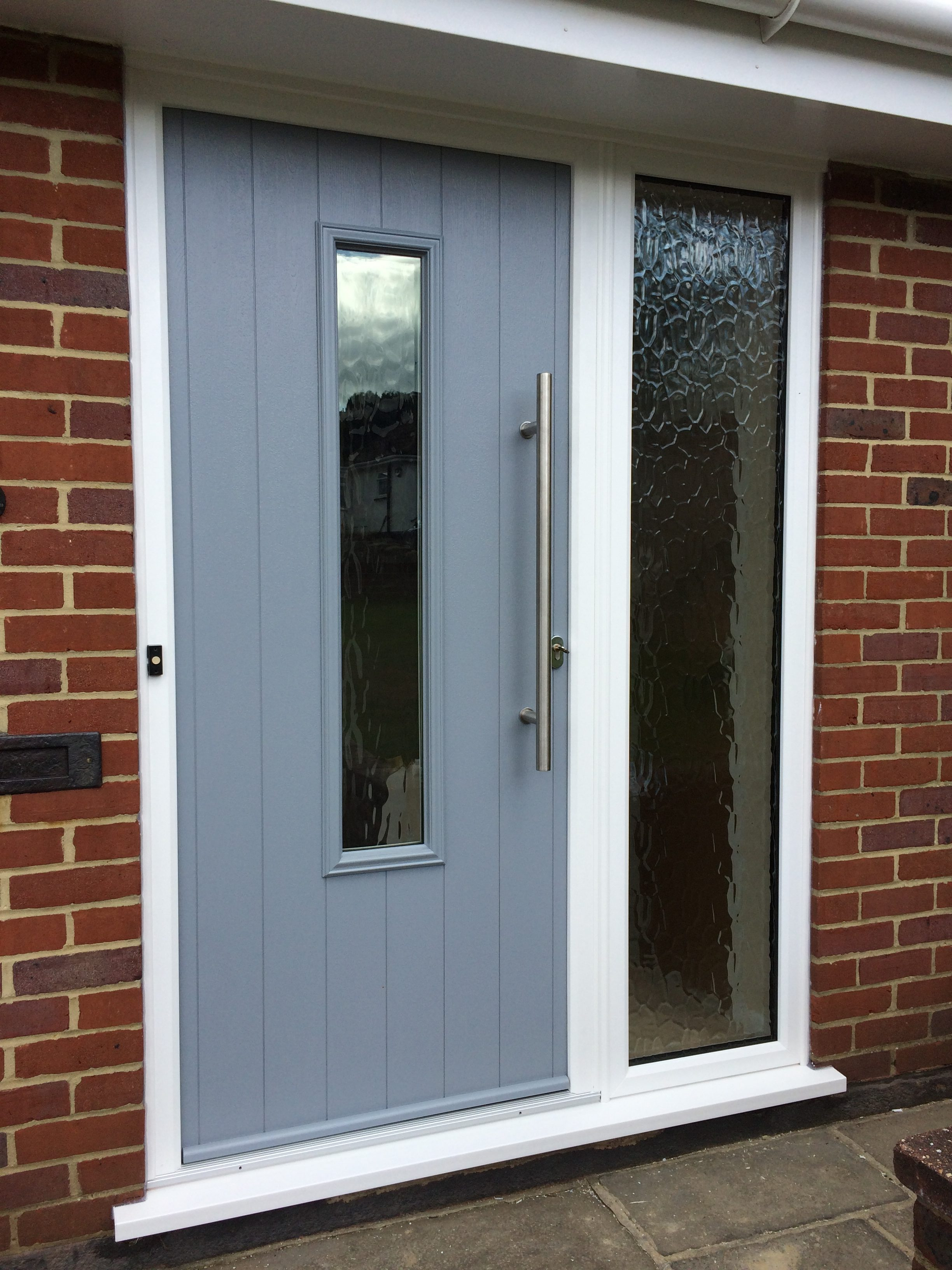 Solidor composite door installations apex windows and for Grey french doors uk